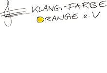 Klang-Farbe Orange