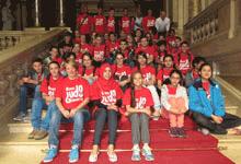 Interkultureller Sport-Austausch mit Jugendlichen