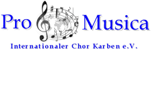 Pro Musica Internationaler Chor Karben e.V.