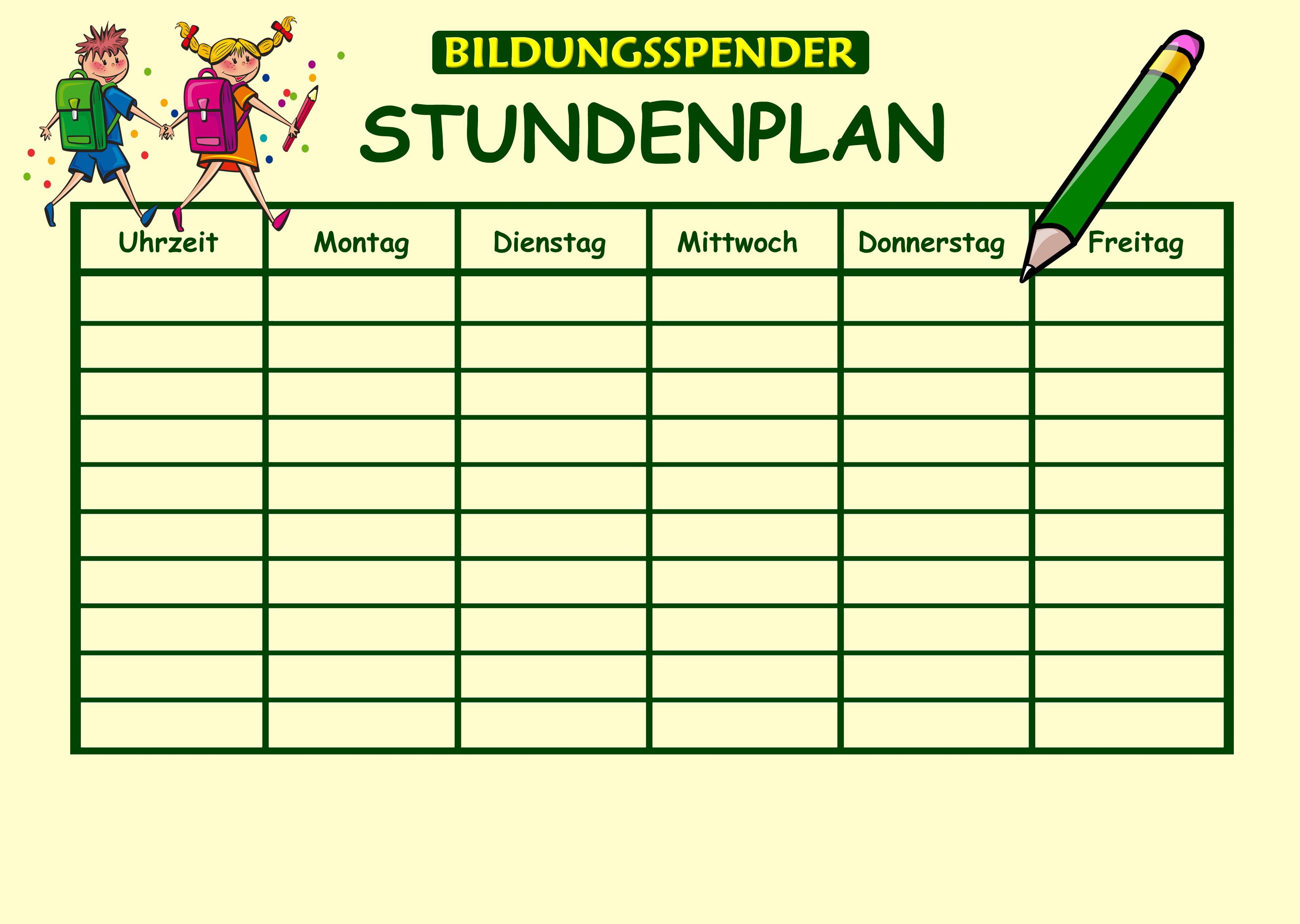 Stundenplangenerator für Regelschule Parkschule Weimar